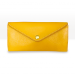 Large Wallet In Yellow - Buttered Corn